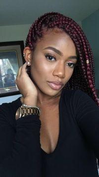 25+ best Box Braids ideas on Pinterest | Box braid, Black ...