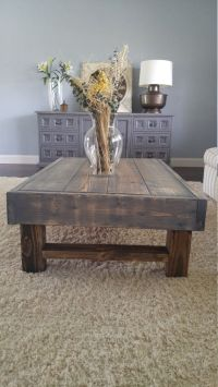 25+ best ideas about Rustic Coffee Tables on Pinterest ...