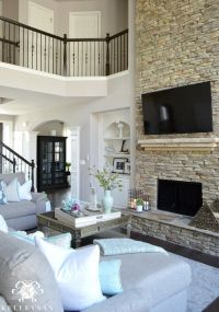1000+ ideas about Two Story Fireplace on Pinterest ...