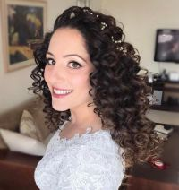 Best 25+ Long curly hairstyles ideas on Pinterest