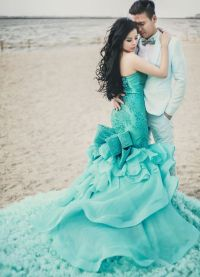 25+ best ideas about Turquoise Wedding Dresses on ...