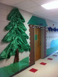 School Hallway Christmas Decorating Ideas   Ideas ...