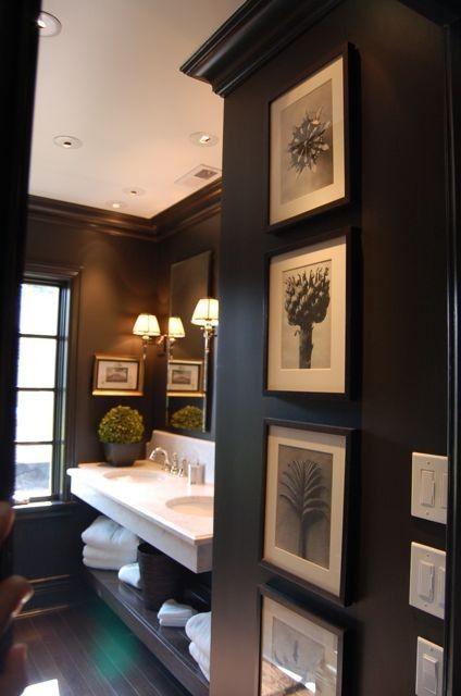 78+ Ideas About Black Bathrooms On Pinterest | Bathroom, Black