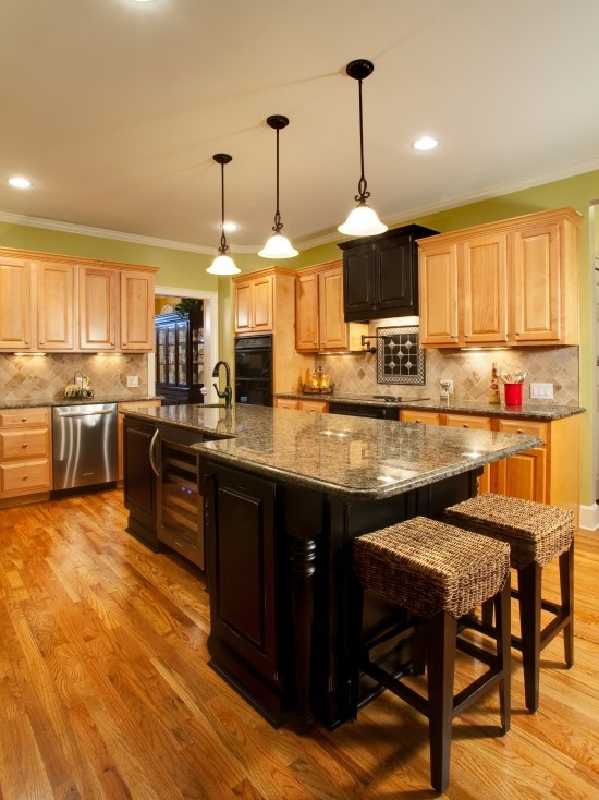 Different Kitchen Islands Great Kitchen With Beautiful Oak Hardwood Floors! | Wood