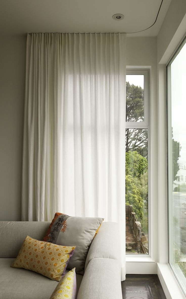 Roman Shades Ikea 22 Best Ceiling-mounted Curtain Rail Images On Pinterest