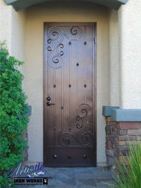242 best images about Wrought Iron Security Doors on ...