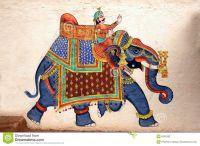 traditional folk motifs of elephants - Google Search ...