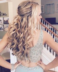 25+ best ideas about Prom hairstyles down on Pinterest ...
