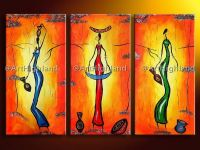 African Abstract Paintings On Canvas