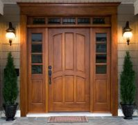 1000+ ideas about Brown Front Doors on Pinterest   Metal ...