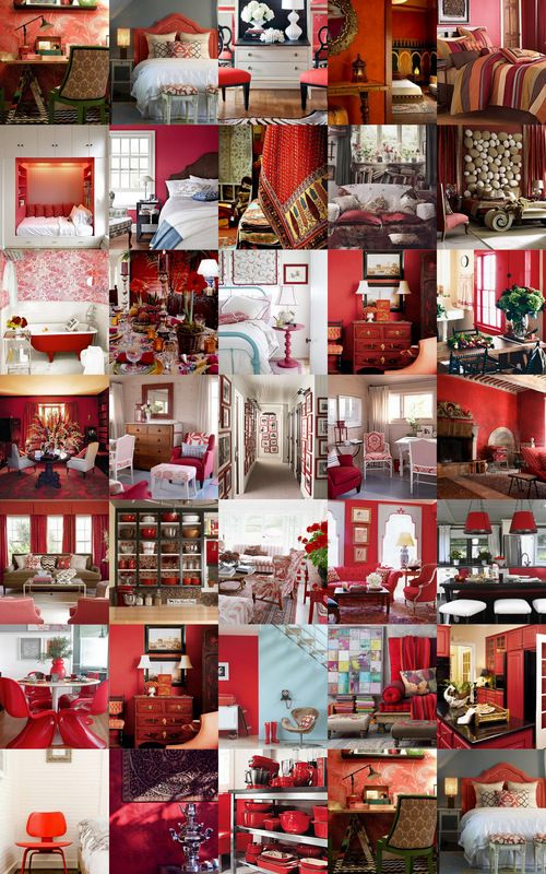 1000+ Ideas About Red Interiors On Pinterest | Red Interior Design