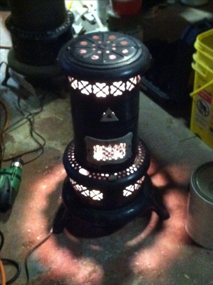 Old Kerosene Heater Turned Into A Light My Repurposed