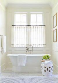 25+ best ideas about Bathroom window curtains on Pinterest ...