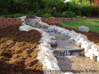Easy Backyard Water Features   Landscaping Water Features ...