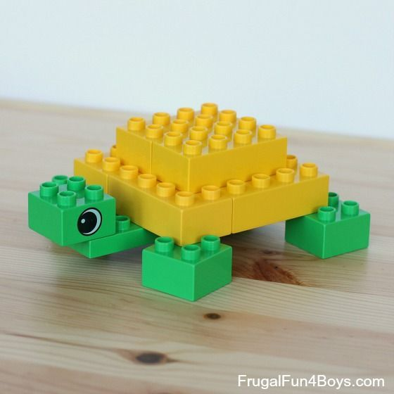 Lego Ideen Zum Nachbauen Lego Duplo Animals To Build | Turtles, Animals And Dinosaurs