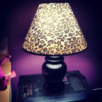 Leopard print lamp Bedroom decor, bedroom ideas | h o m e ...
