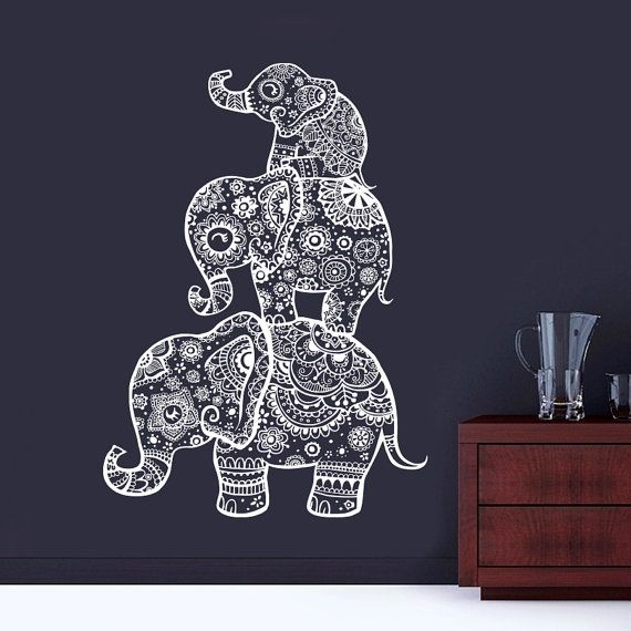 25+ best ideas about Elephant Wall Decal on Pinterest