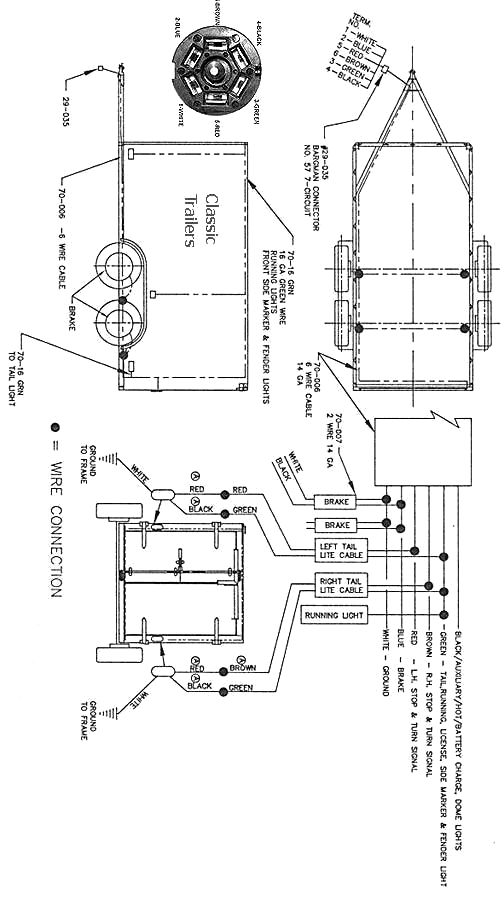 diagram for wiring a trailer