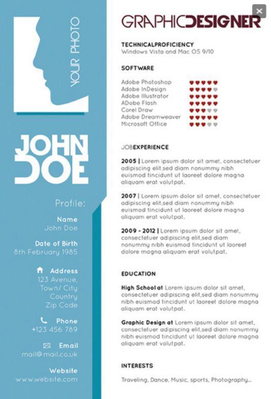 graphic design illustrator resume examples