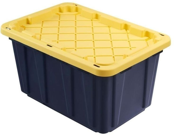 1000 Ideas About Large Plastic Storage Boxes On Pinterest