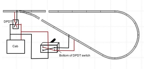 ho model train track wiring