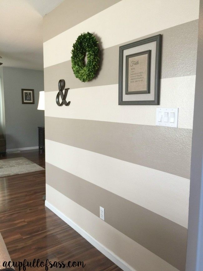 1000+ Ideas About Striped Painted Walls On Pinterest   Striped