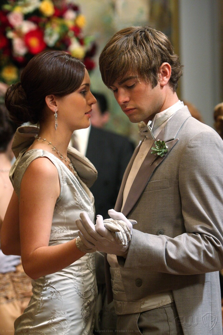 Xoxo Gossip Girl Wallpaper Blair Waldorf And Nate Archibald At The Contilion Ball In