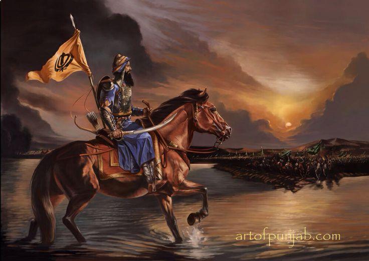 Sikh Animated Wallpaper Sikh Warrior Sikhpoint Com Sikh Warriors Pinterest