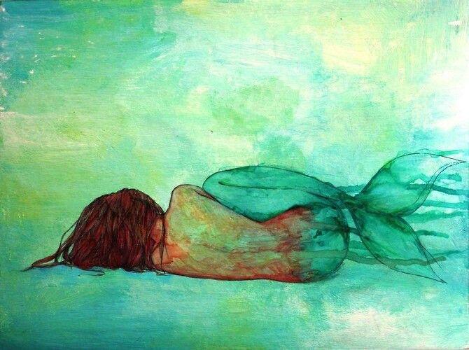 The Little Mermaid Quote Iphone Wallpaper Mermaid Watercolor Art Pinterest Watercolors