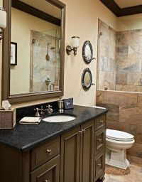 1000+ ideas about Small Dark Bathroom on Pinterest | Small ...