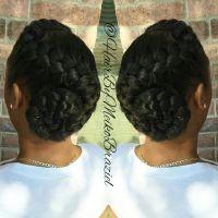The 25+ best Goddess braids updo ideas on Pinterest