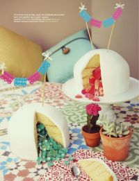 "Gender reveal baby shower: Mini mexican ""bebe"" cake ..."