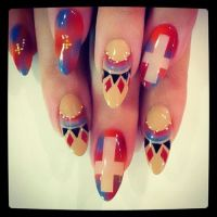 1000+ ideas about Cross Nail Designs on Pinterest | Pretty ...