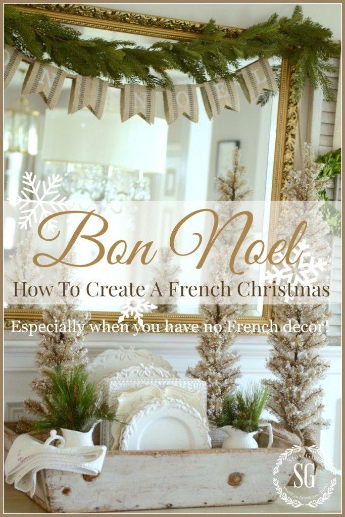 Best 25+ French christmas decor ideas on Pinterest