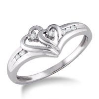 The most beautiful promise ring I've ever seen.