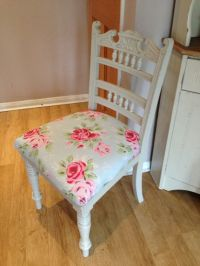 Shabby Chic Chair Cath Kidston Fabric for by ...