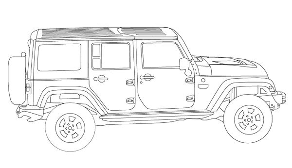 01 jeep wrangler bedradings schema