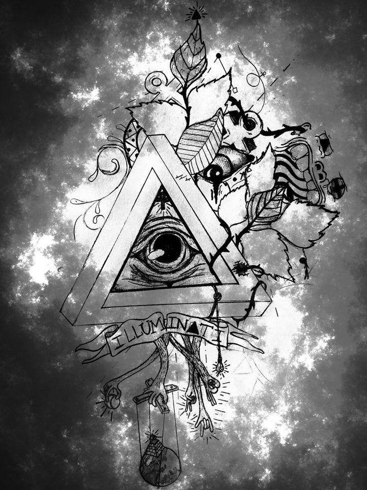 Gravity Falls Wallpaper Pc Deviantart Illuminati Illuminati Pinterest