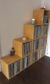 25+ Best Ideas about Vinyl Record Storage on Pinterest