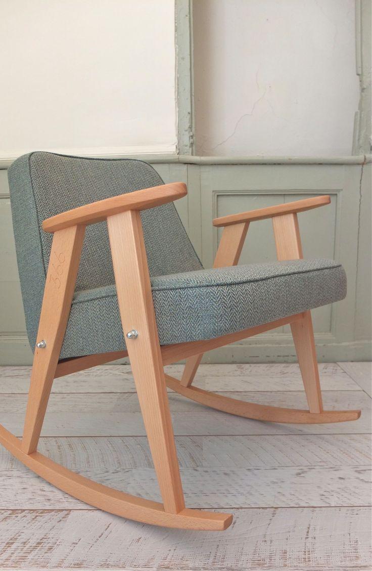 Rocking chair 366 fauteuil 366 jozef chierowski 366 concept slavia