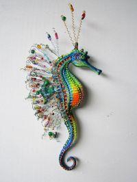 Seahorse art wall sculpture | Art walls, Wall sculptures ...