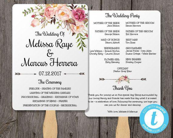 1000+ idéer om Wedding Program Illustrations på Pinterest - wedding agenda sample