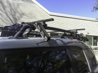 Attwood Fishing Rod Holder modified for OEM roof rack | FJ ...