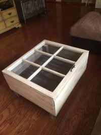 Shadow box coffee table, Shadow box and Coffee tables on ...
