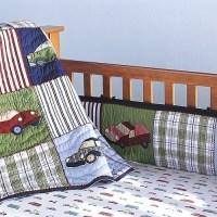 Pottery Barn Cars and Trucks Crib Bedding Set~Boy~NEW ...