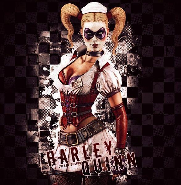 Monster Inc Wallpaper Iphone 6 Harley Quinn Arkham Asylum Dc Villains Amp Heroes