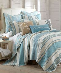 Dreamy beachy bedrooms with bedding by Levtex - Beach ...