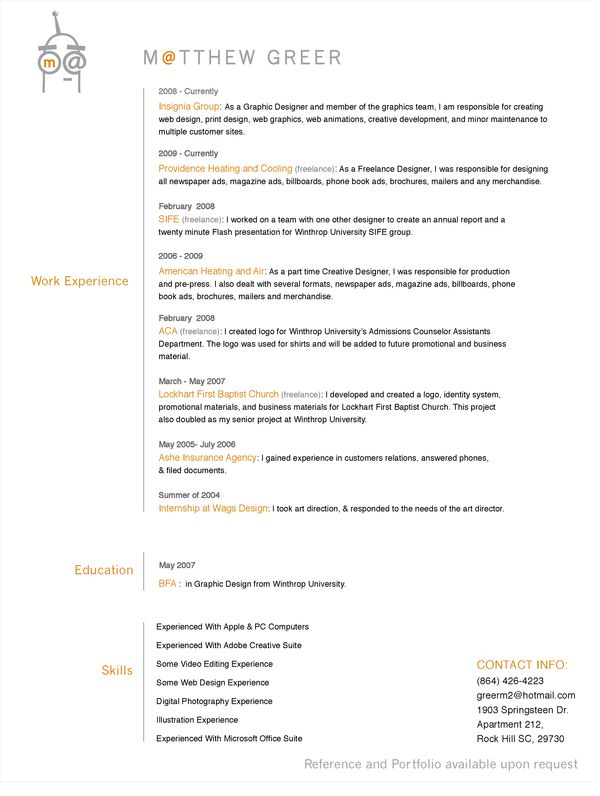 resume samples for self employed individuals