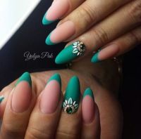 25+ best ideas about Almond Nails on Pinterest
