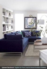 Best 25+ Navy blue couches ideas on Pinterest | Navy couch ...